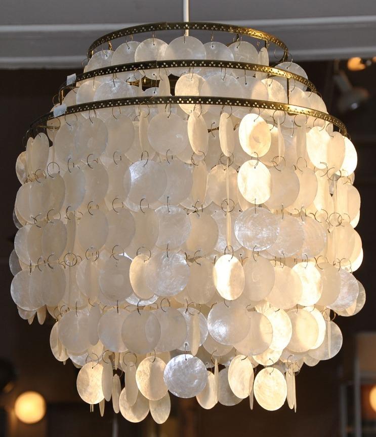 snäckskalslampa